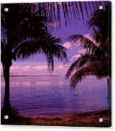 Plum Paradise Acrylic Print