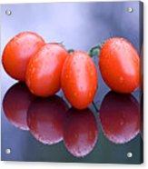 Plum Tomatoes Acrylic Print