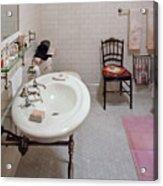 Plumber - The Bathroom  Acrylic Print