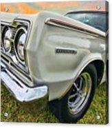 Plymouth Belvedere II  Acrylic Print