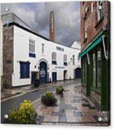 Plymouth Gin Distillery Acrylic Print by Donald Davis