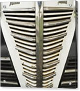 Plymouth Grille Acrylic Print
