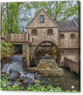 Plymouth Grist Mill Acrylic Print