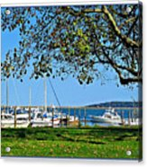 Plymouth Harbor Acrylic Print