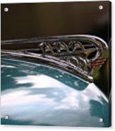Art Deco Plymouth Hood Ornament Acrylic Print