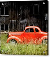 Plymouth Hot Rod Acrylic Print