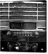 Plymouth Radio Acrylic Print