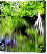 Plymouth Reflections #2 Acrylic Print