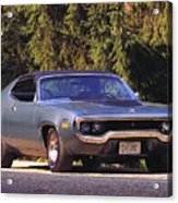Plymouth Road Runner Acrylic Print