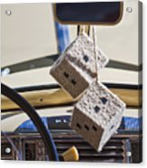 Plymouth Special Deluxe Dice Acrylic Print