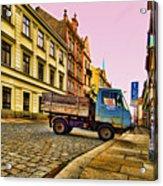 Plzen In Hdr Czech Republic Acrylic Print