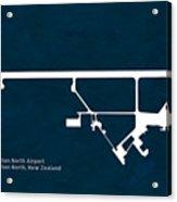 Pmr Palmerston North Airport In Palmerston North New Zealand Run Acrylic Print
