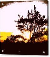 Pnw Sunset Acrylic Print