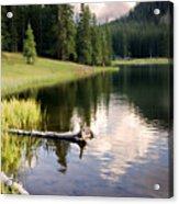 Poage Lake Acrylic Print