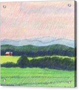 Pocahontas County Acrylic Print