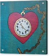 Pocketwatch Acrylic Print
