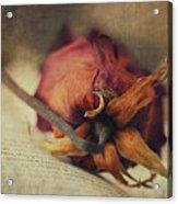 Poetry I Acrylic Print