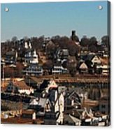 Point Allerton From Fort Revere Acrylic Print