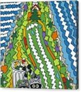 Point Arena Lighthouse Acrylic Print by Rojax Art