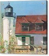 Point Betsie Lighthouse Acrylic Print