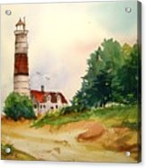 Point Betsie Lighthouse Michigan Acrylic Print