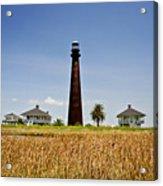 Point Bolivar Lighthouse Acrylic Print