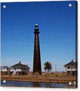 Point Bolivar Lighthouse Tx Acrylic Print