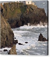 Point Bonita Lighthouse Acrylic Print