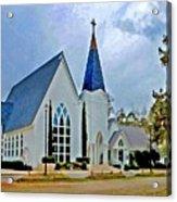 Point Clear Alabama St. Francis Church Acrylic Print