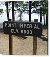 Point Imperial Acrylic Print