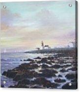 Point Judith Light R I Acrylic Print