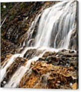 Point Lace Falls 1 Acrylic Print