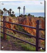 Point Loma Lighthouse California Acrylic Print