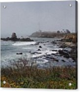 Point Montara Lighthouse Acrylic Print