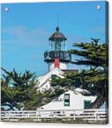 Point Pinos Lighthouse Acrylic Print