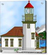 Point Robinson On Vashon Island Acrylic Print