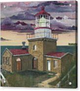 Point Sur Acrylic Print by James Lyman