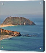 Point Sur Lighthouse On Central California's Coast - Big Sur California Acrylic Print by Christine Till