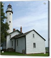 Pointe Aux Barques Lighthouse Acrylic Print