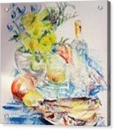 Poissons Acrylic Print