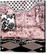 Poitrine Rose Acrylic Print