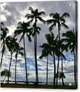 Poka'i Bay, Waianae, Hawaii  Acrylic Print