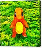 Pokemon Go Charmander - Da Acrylic Print