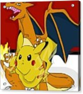 Pokemon Acrylic Print