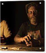 Poker Night Acrylic Print