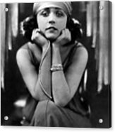 Pola Negri, Ca. Early 1920s Acrylic Print