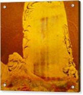 Polaroid Experimental Drawing # 4 Acrylic Print
