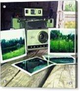 Polaroid Land 320 Acrylic Print