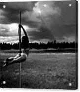 Pole Dance Storm 1 Acrylic Print
