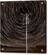 Pole Star Acrylic Print